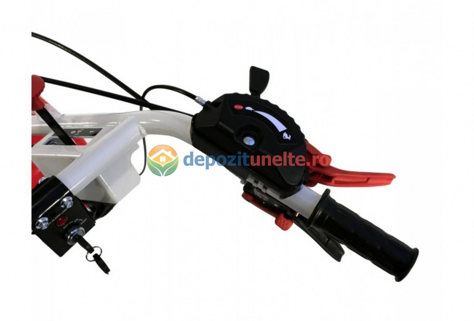 MOTOCULTOR LONCIN LC1440 DIESEL 9,5CP CU ROTI 5.00-12 4